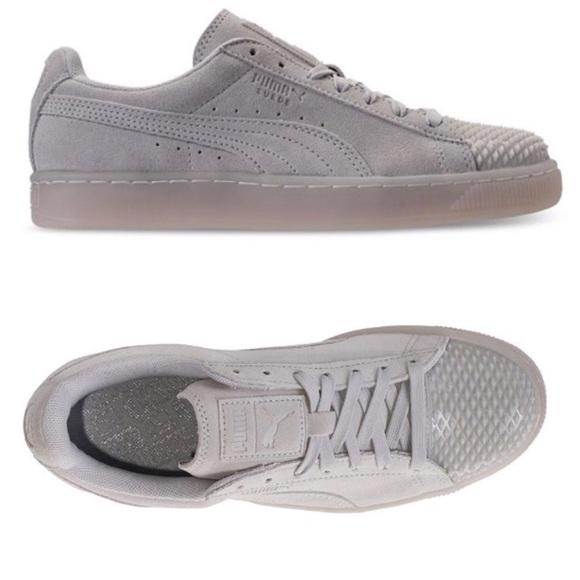 bbf26f10 ♥️PUMA SUEDE JELLY Sneaker Size 10 NWT